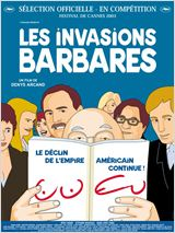 Les Invasions barbares : Affiche