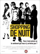 Shopping de nuit : Affiche
