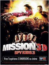 Mission 3D Spy kids 3 : Affiche