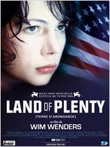 Land of plenty (terre d'abondance) : Affiche