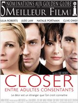 Closer, entre adultes consentants : Affiche