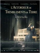 L'Accordeur de tremblements de terre : Affiche