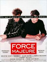 Force majeure : Affiche