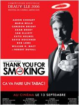 Thank you for smoking : Affiche