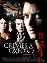 Crimes à Oxford : Affiche
