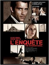 L'Enquête - The International : Affiche