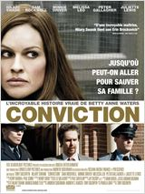 Conviction : Affiche