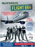 Iron Maiden: Flight 666 : Affiche