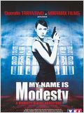 My Name Is Modesty : A Modesty Blaise Adventure : Affiche