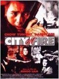 City on fire : Affiche