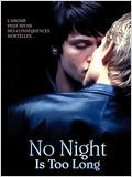 No Night is too Long : Affiche