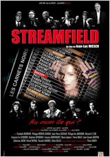 Streamfield les carnets noirs : Affiche