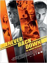 Never Back Down : Affiche