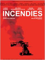 Incendies : Affiche